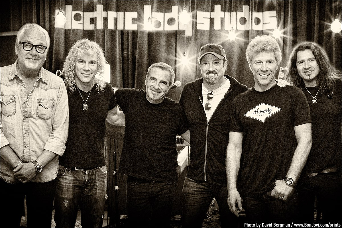 Bon Jovi new album is done!