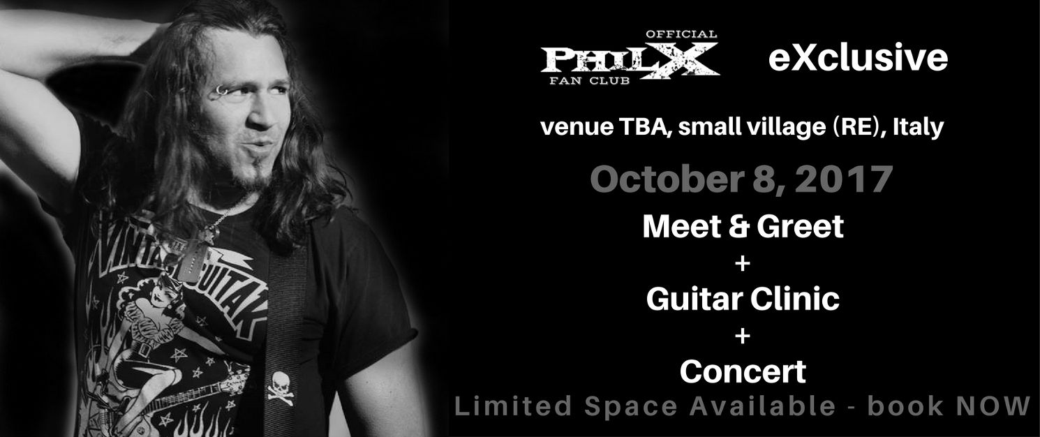 FAN CLUB EVENT: Meet & Greet + Guitar Clinic + Concert