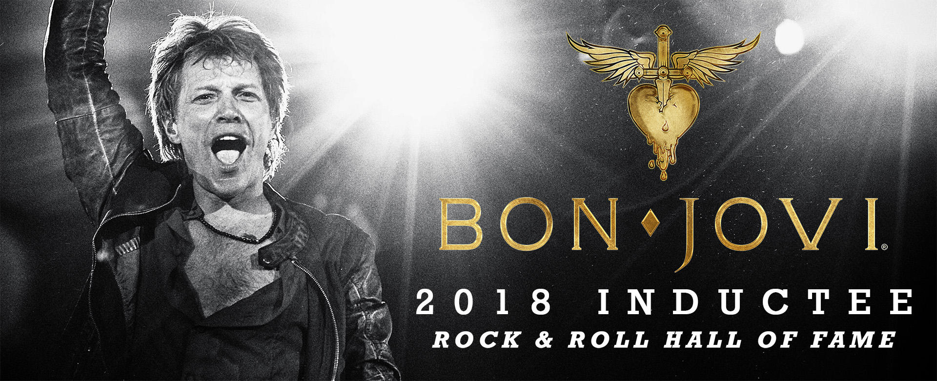 Bon Jovi to be inducted in the Rock and Roll Hall of Fame