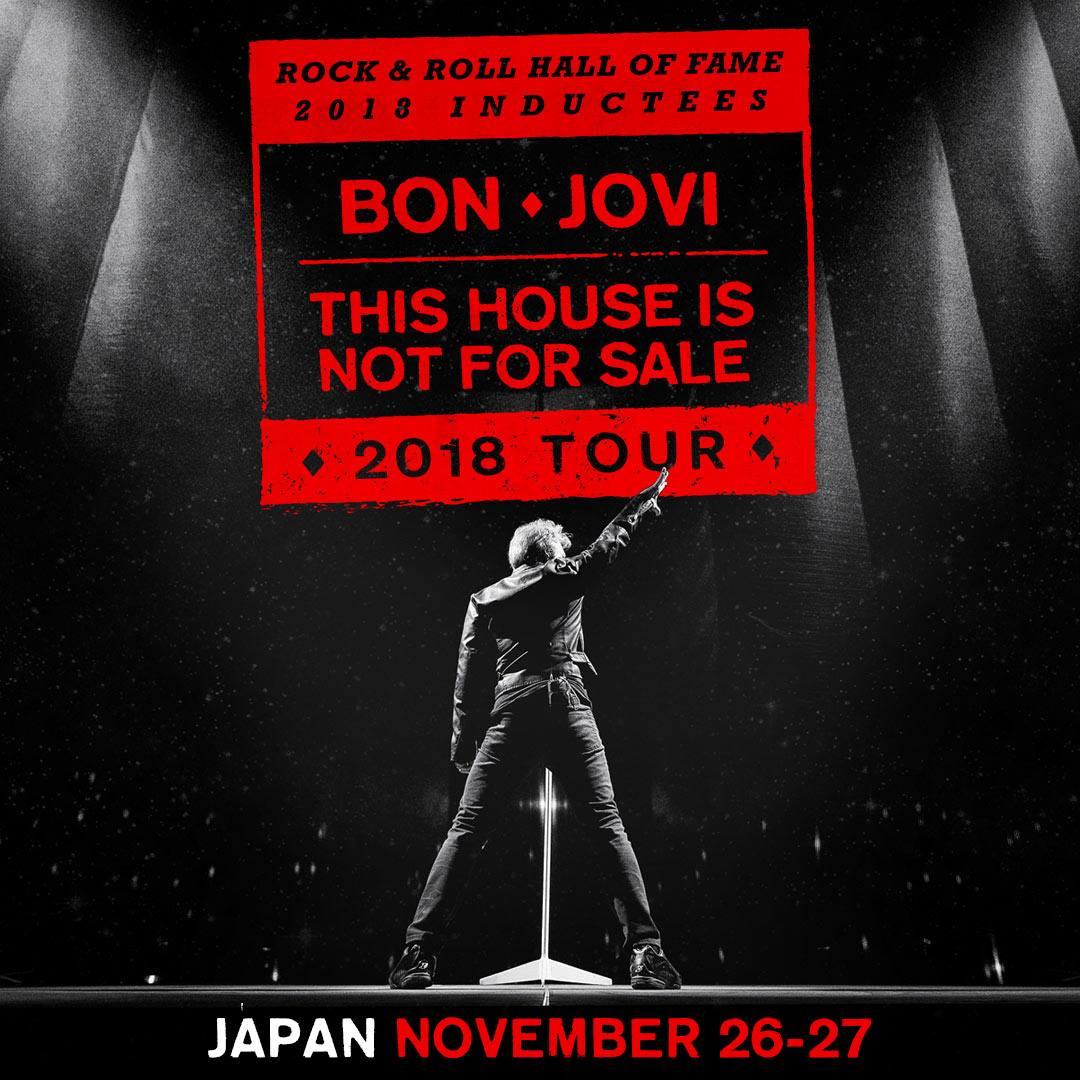 Bon Jovi @ Japan November 2018