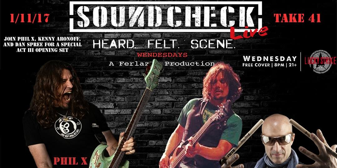Soundcheck Live (Take 41) January 11