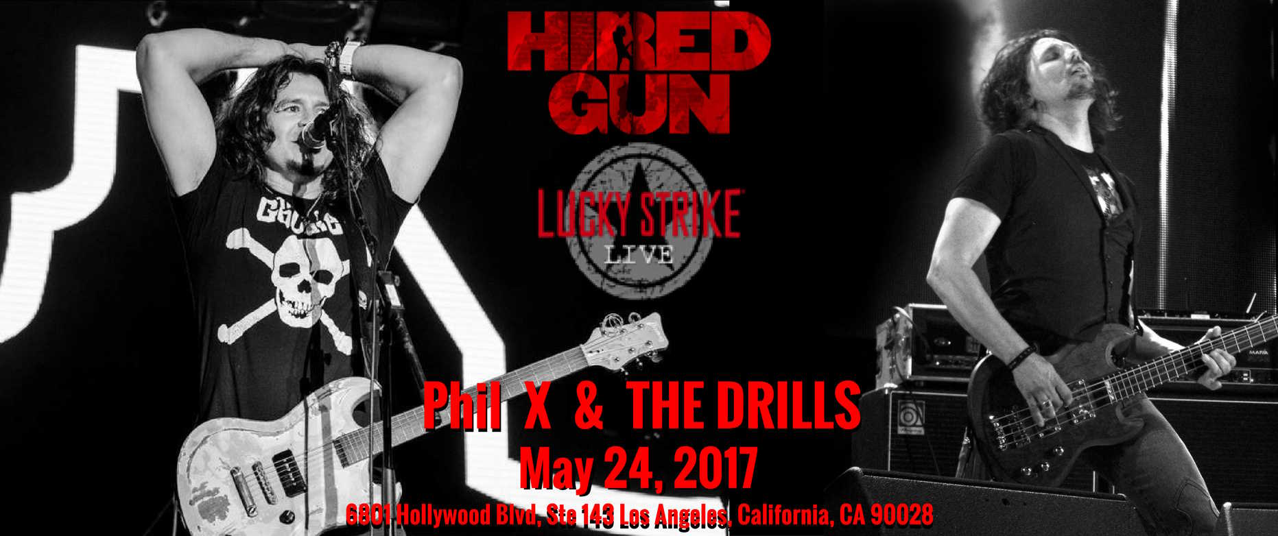 The DRILLS @ Lucky Strike Live
