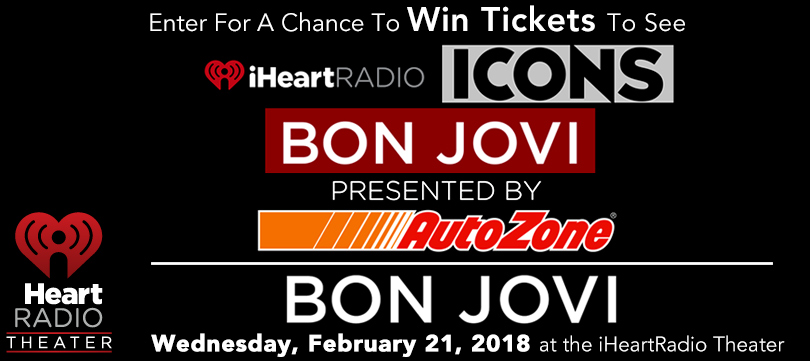 JUST ANNOUNCED: Bon Jovi in New York City Feb. 21