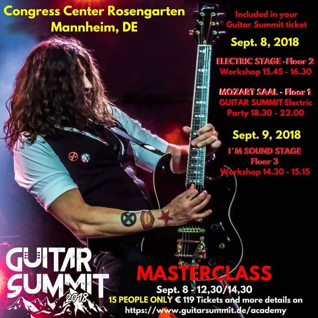 Masterclass @ Guitar Summit