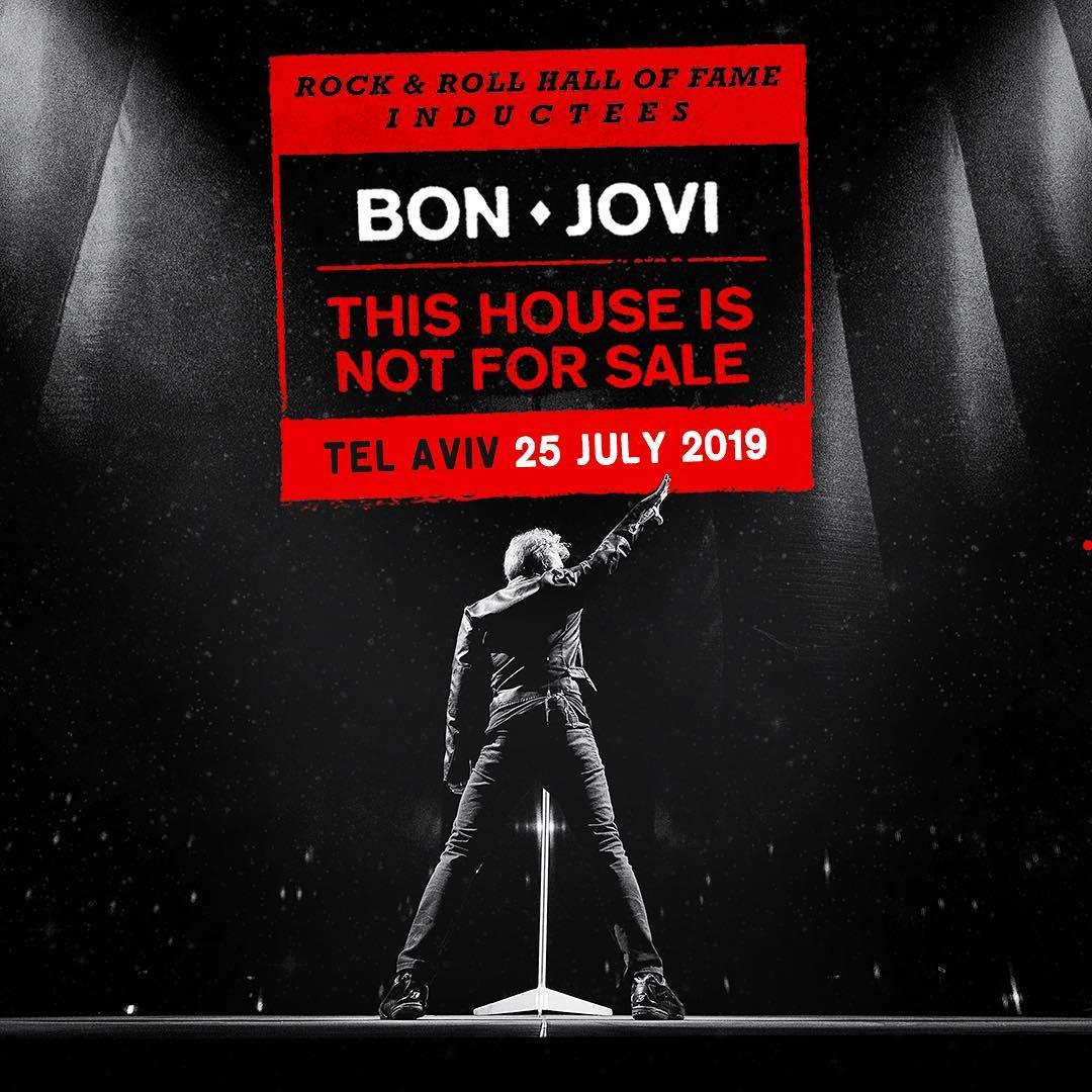 Bon Jovi @ Tel Aviv, Israel