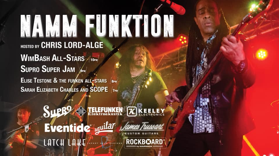 Supro Super Jam @ NAMM Funktion
