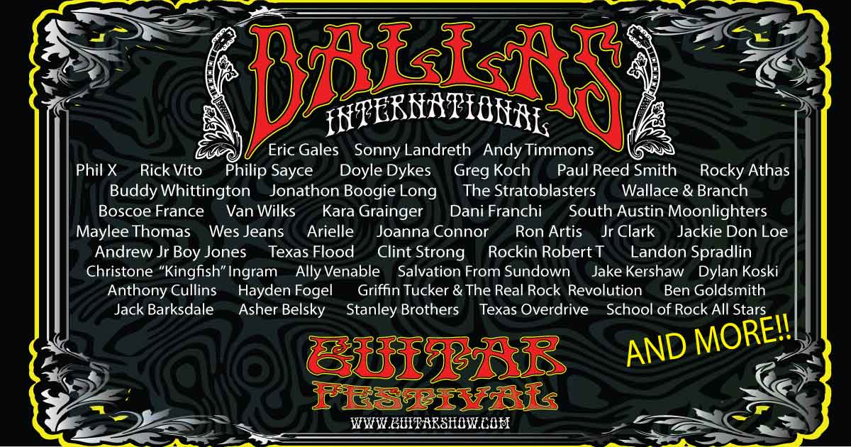 Dallas Guitar Festival