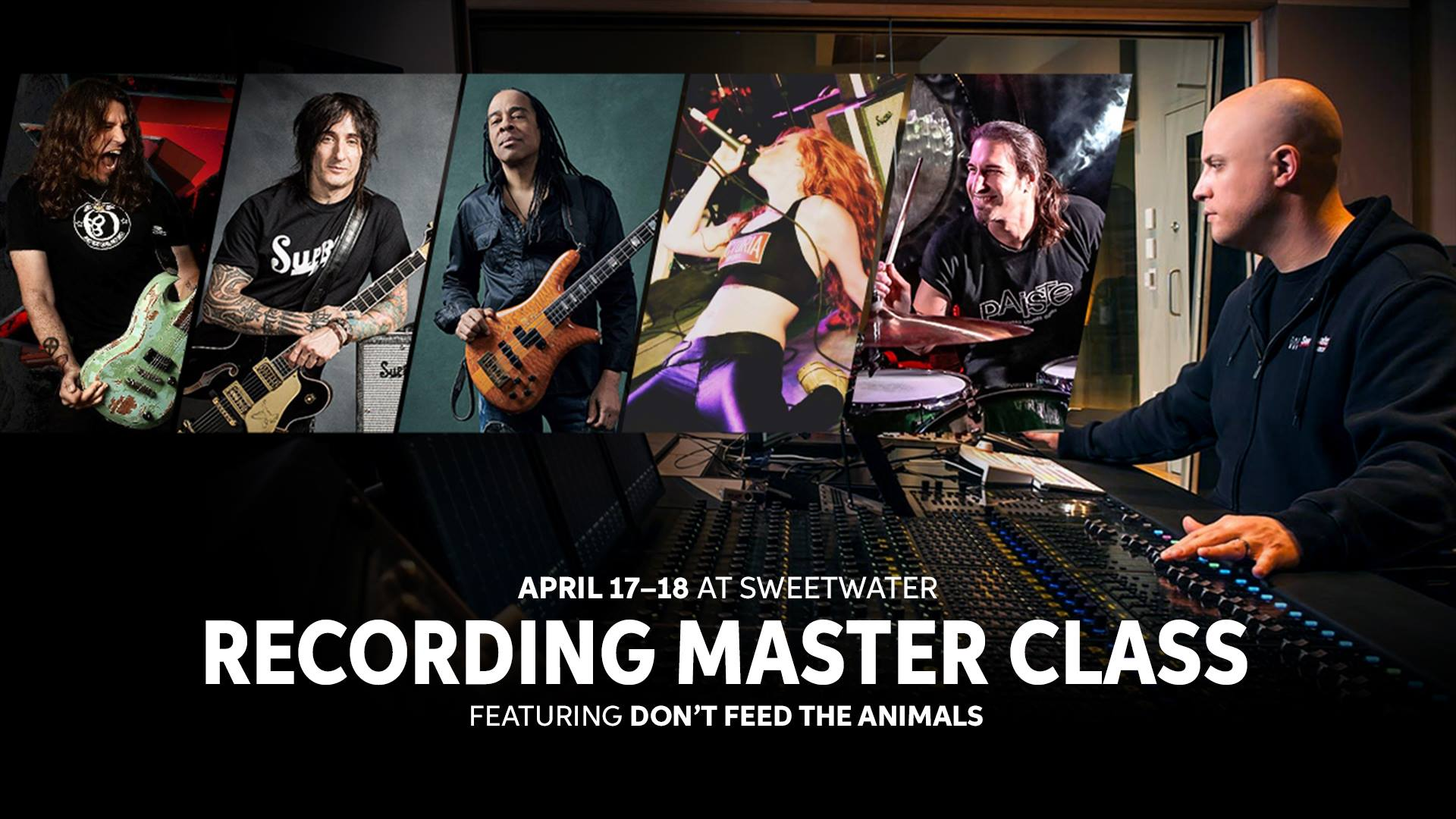 Sweetwater Studios Recording Master Class