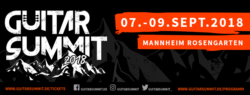 Guitar Summit @ Mannheim, Germany