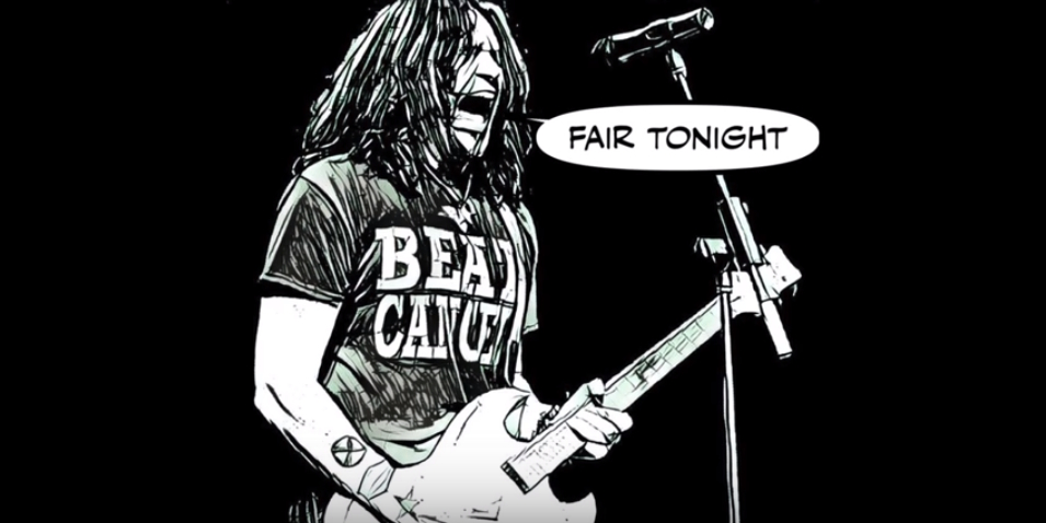 Phil X & The Drills Playing Fair Lyric Video