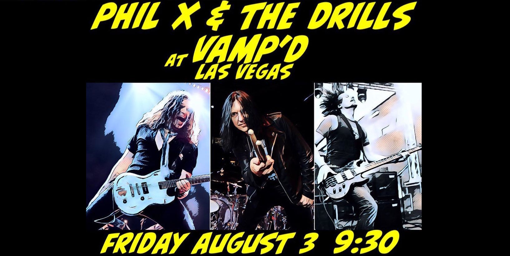 Phil X & The Drills @ Vamp´d, Las Vegas
