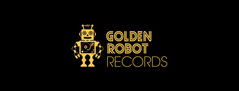 Phil X and the Drills sign Golden Robot Records.
