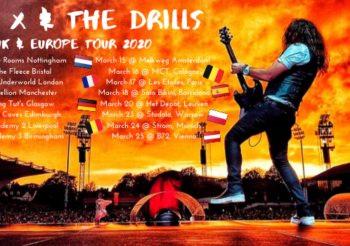 UK and EUROPE Tour Dates 2020
