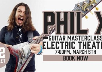 Guitar Masterclass @ Guilford, UK March 5, 2020