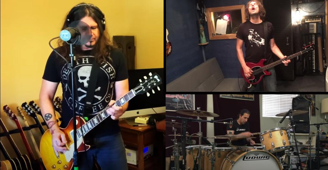 Isolation jam Phil X Daniel Spree Brian Tichy.