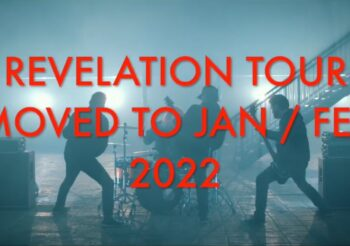 Stone Broken tour Postponed to 2022