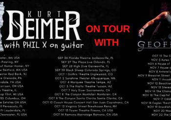 Phil X joins Kurt Deimer on tour supporting Geoff Tate